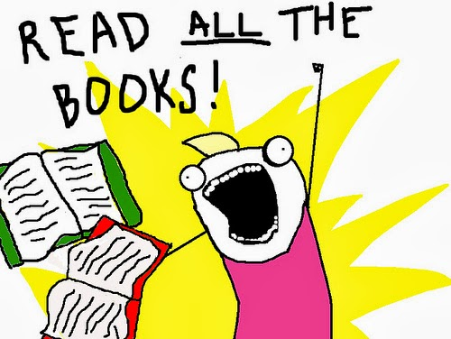 Image result for read all the books